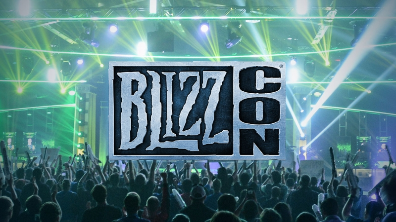 BlizzCon 2018 Virtual Ticket Logo 2