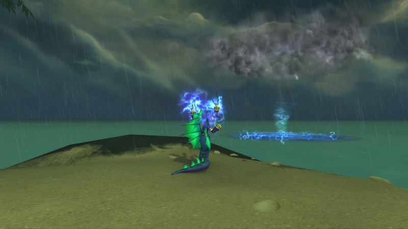 Nazeshi Tempest-Wielder Channeling Calling the Storm
