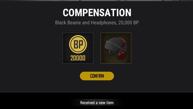 PUBG Matchmaking Issues Compensation