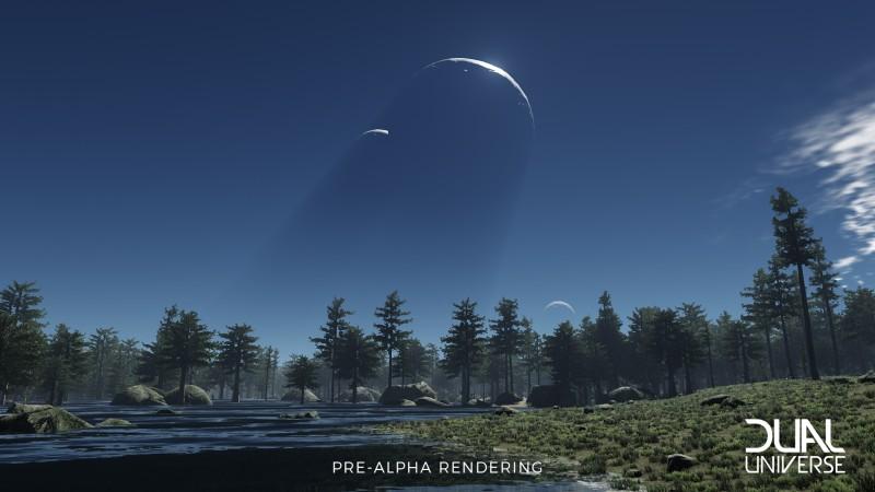 Dual Universe Pre-Alpha Rendering
