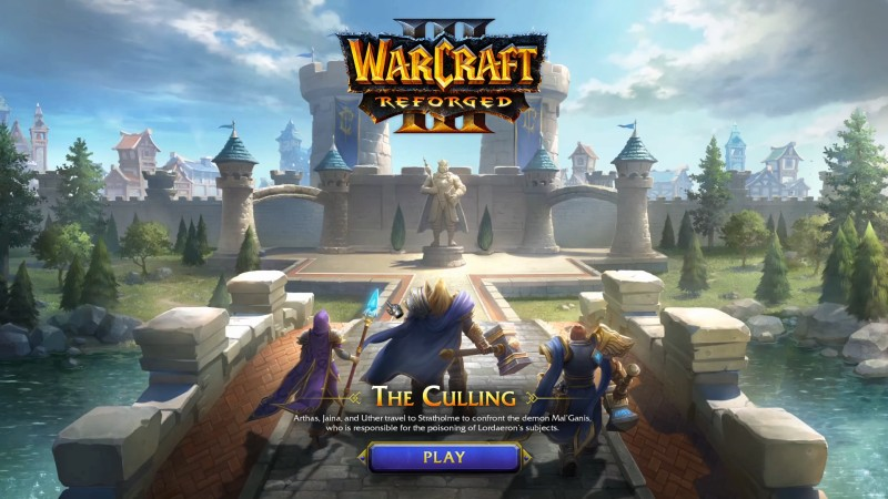 Warcraft III: Reforged Culling Normal Play Through