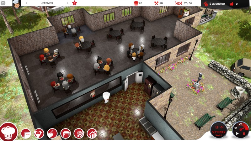 Chef: A Restaurant Tycoon Screenshot