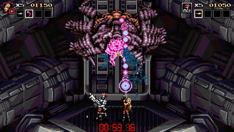 Blazing Chrome screenshot | JoyMasher and The Arcade Crew