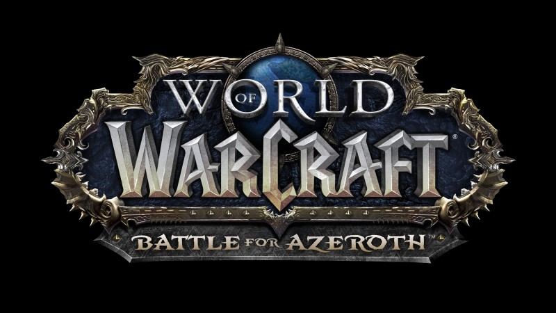 World of Warcraft Battle for Azeroth Logo | Activision-Blizzard