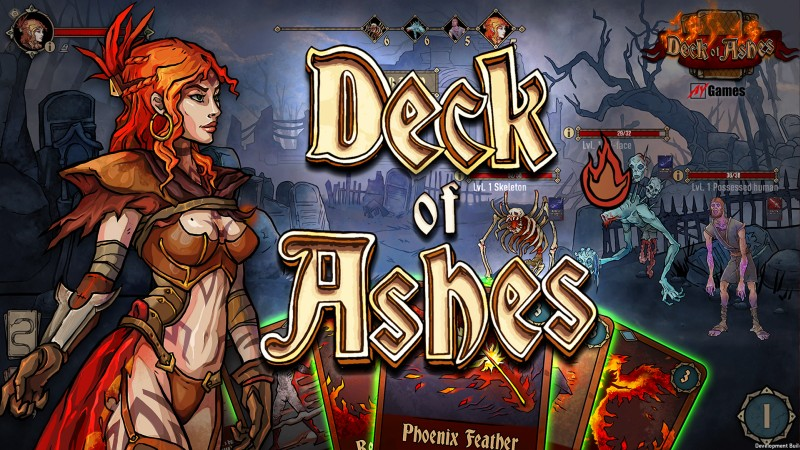 Deck of Ashes - Combat Systems Logo | AYGames