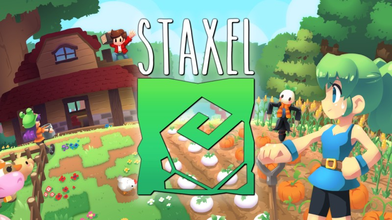Staxel Logo Screen | Plukit