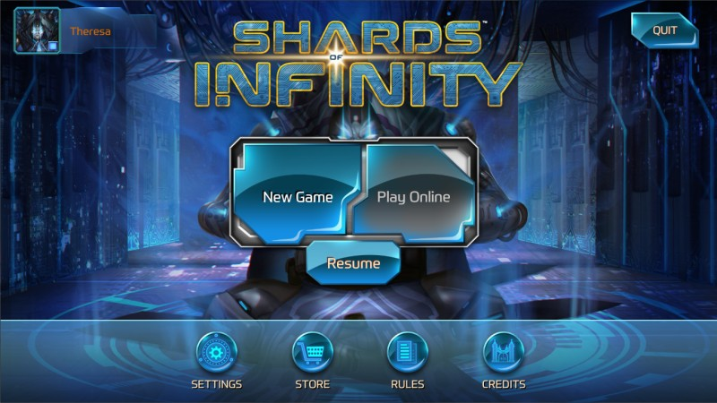 Shards of Infinity | Temple Gates Games
