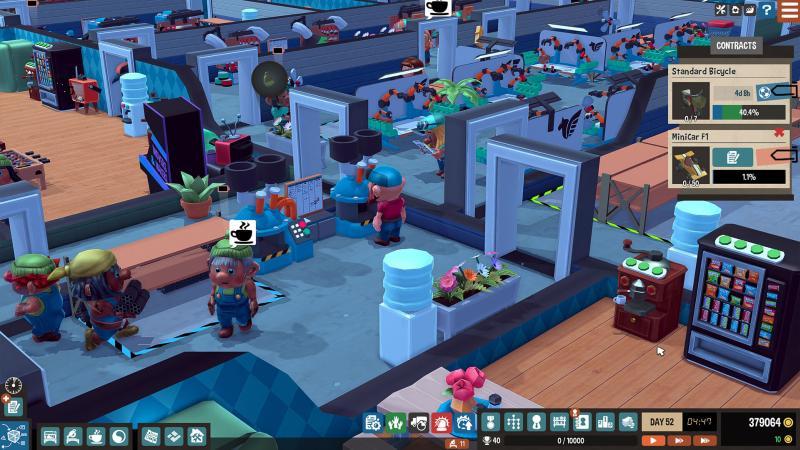 Little Big Workshop | Mirage Game Studios