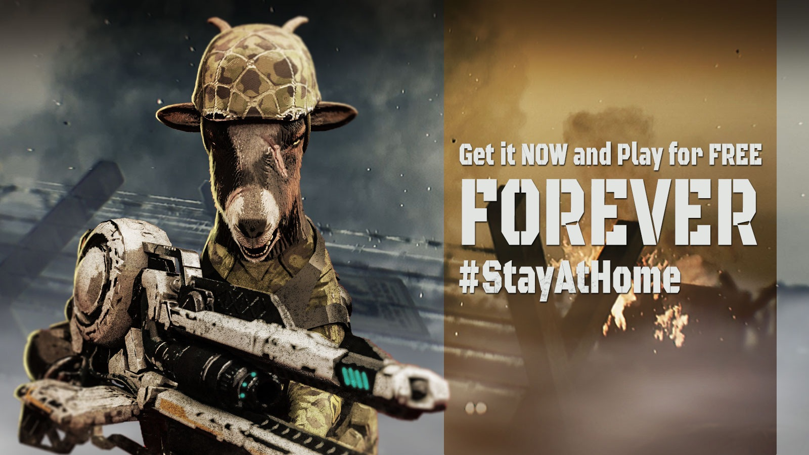 Goat of Duty #StayAtHome Event   34BigThings, Raiser Games