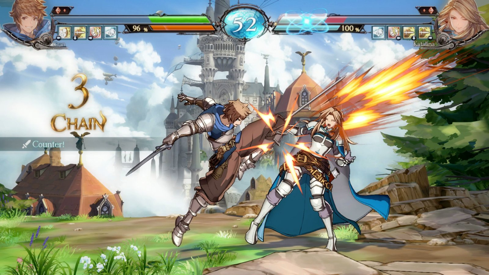 Granblue Fantasy: Versus   Cygames, Arc System Works, XSEED Games