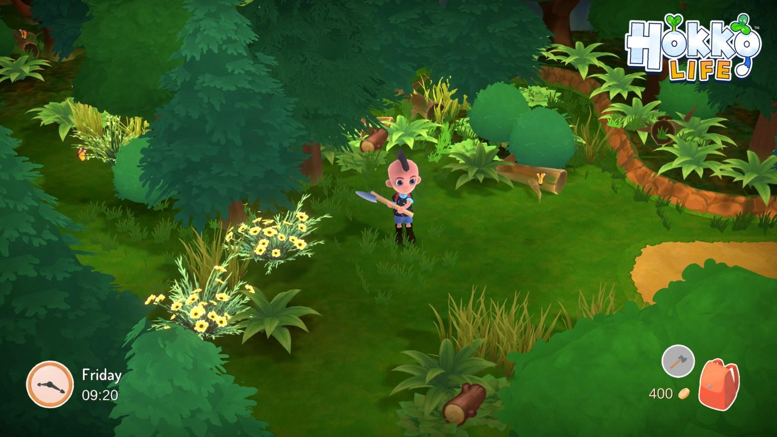 Hokko Life - forest | Wonderscope Games, Team17
