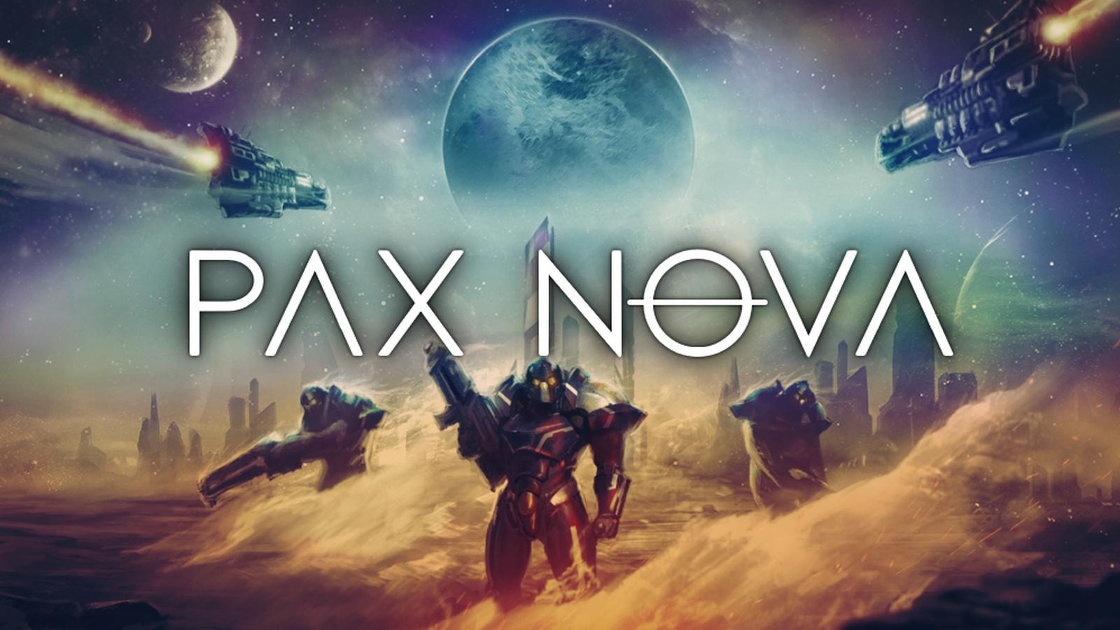 Pax Nova - key art | GreyWolf Entertainment, Iceberg Interactive