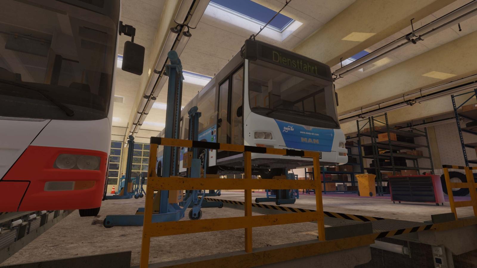 Bus Mechanic Simulator | Aerosoft