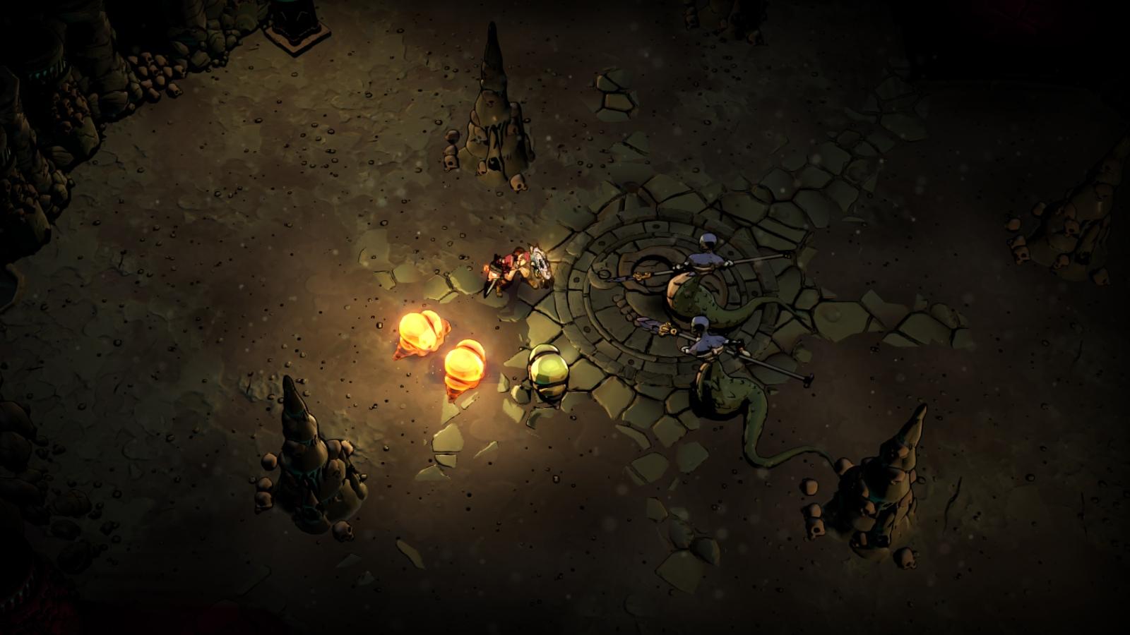 Curse of the Dead Gods - Serpent's Catacombs Update | Passtech Games, Focus Home Interactive