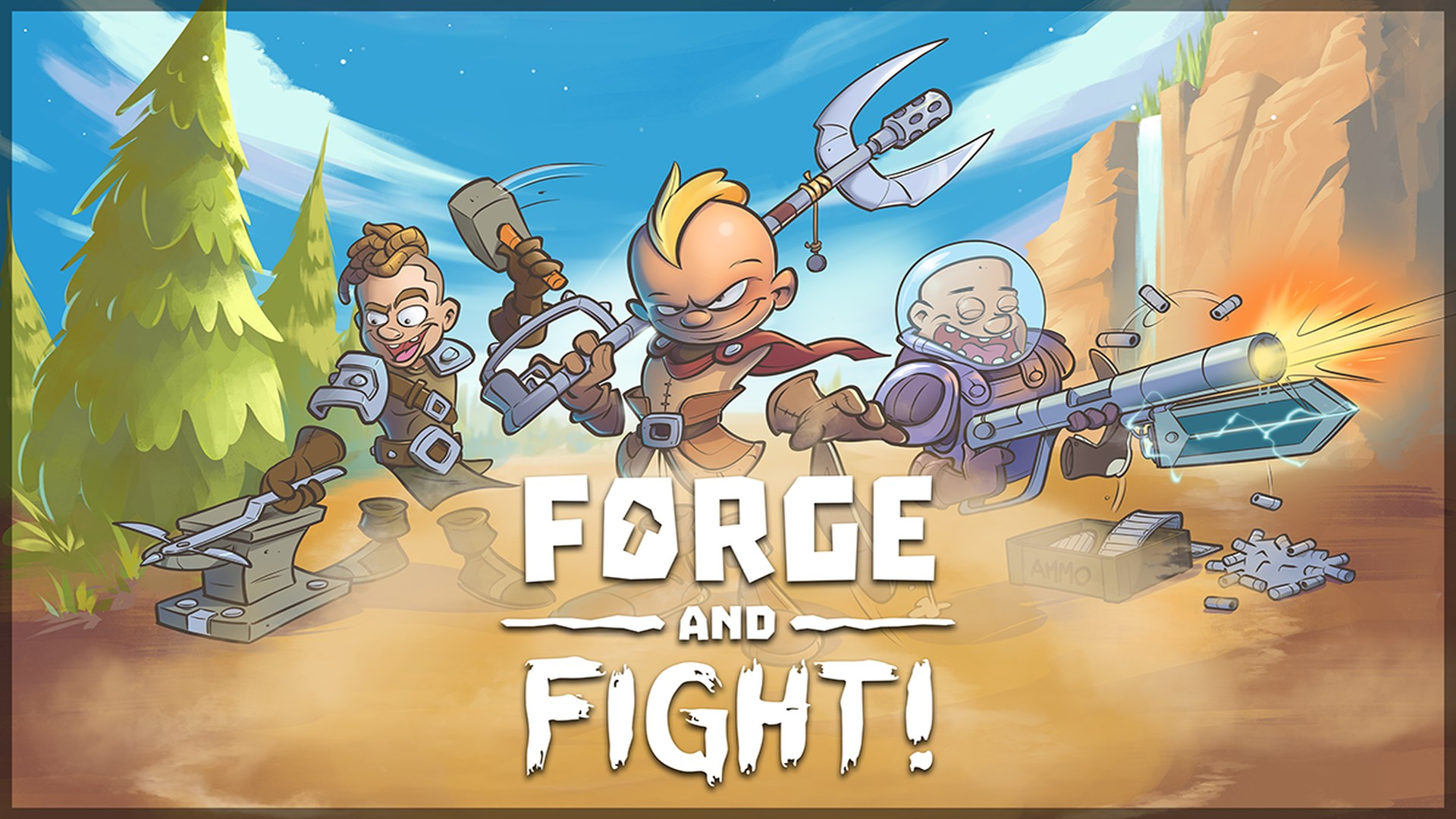 Forge and Fight! | Flamebait Games
