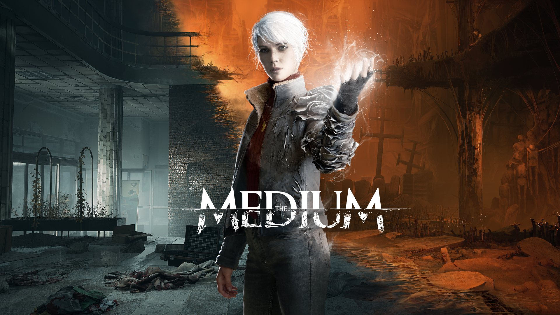 The Medium - The Gift Key Art | Bloober Team