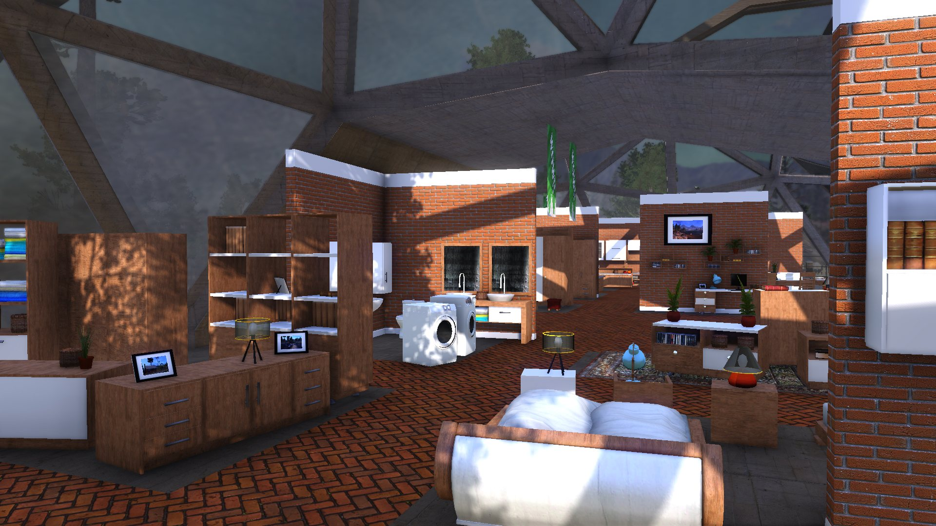 Lumberjack's Dynasty - Furniture Update | Toplitz Productions
