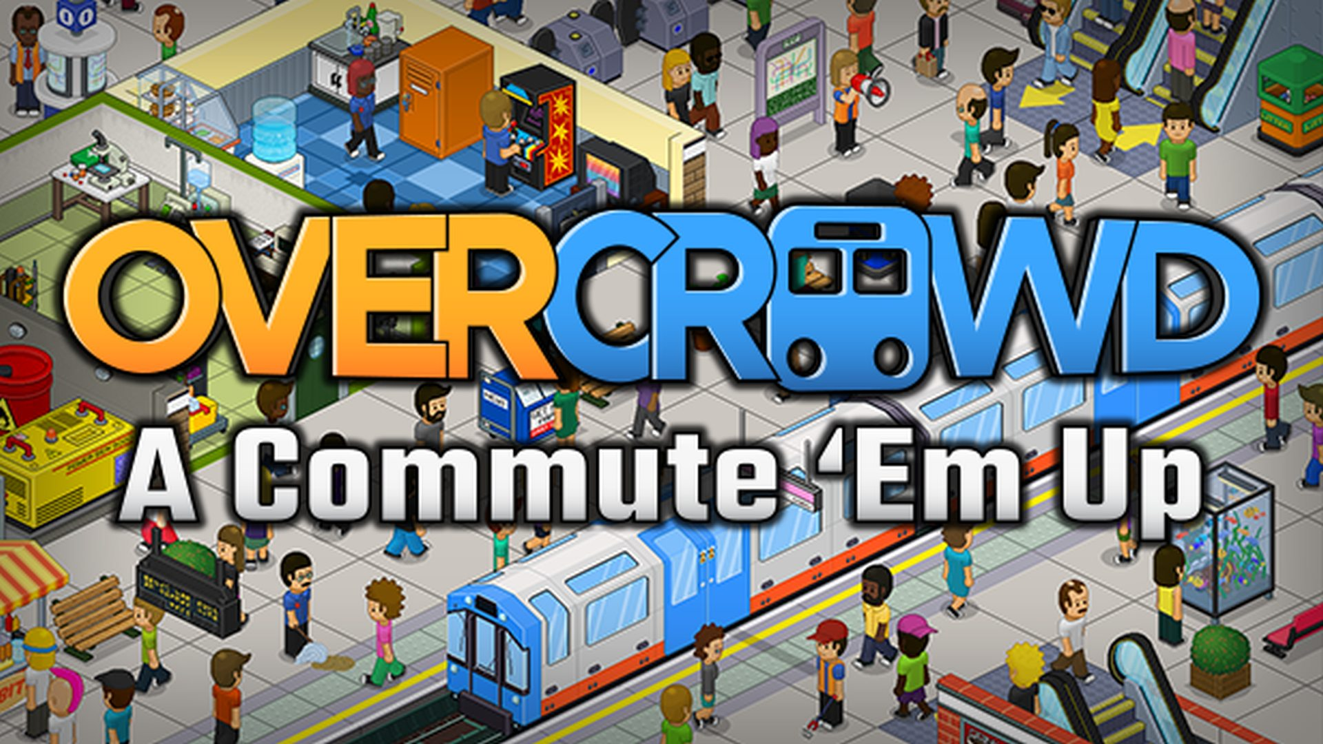 Overcrowd: A Commute 'Em Up | SquarePlay Games
