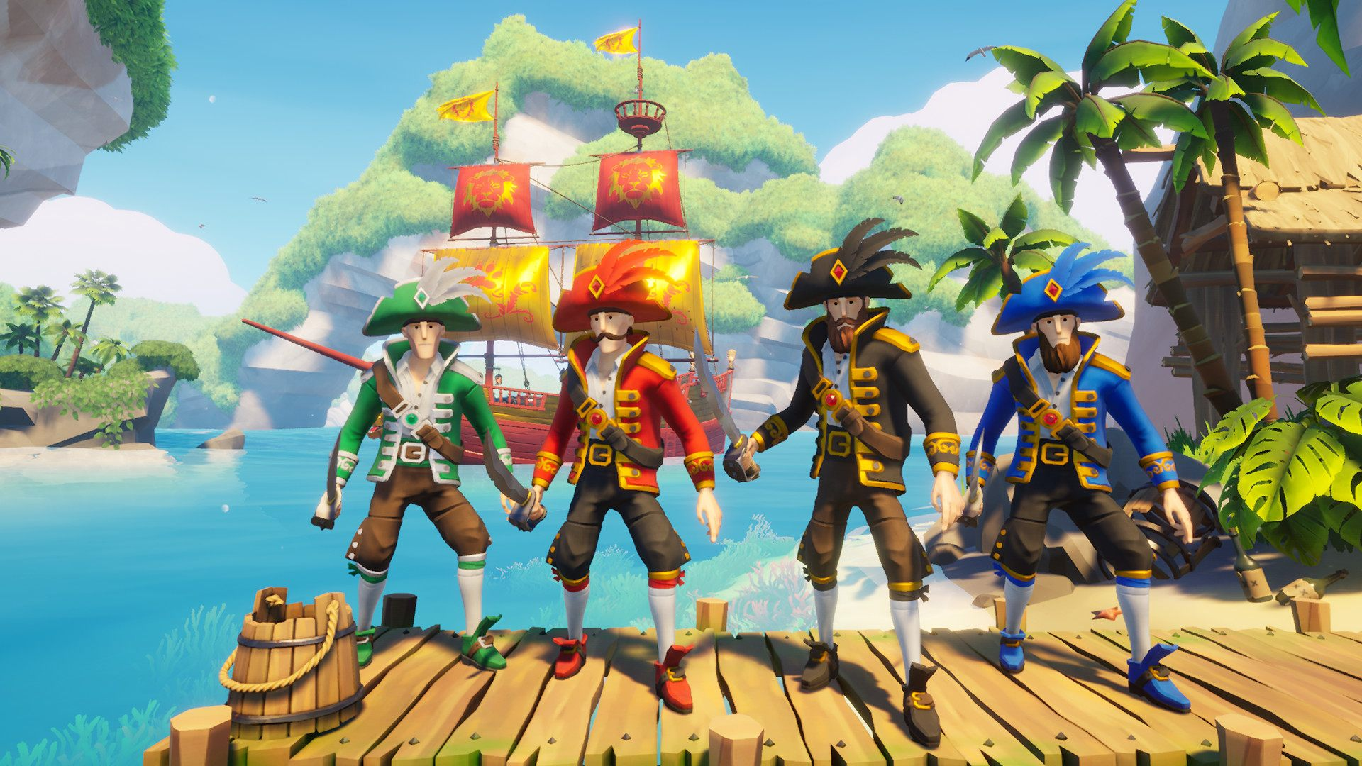 Blazing Sails - Privateer Pack | Get Up Games, Iceberg Interactive
