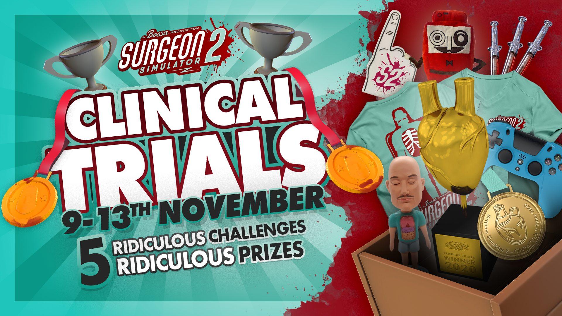 Surgeon Simulator 2 - Clinical Trials   Bossa Studios