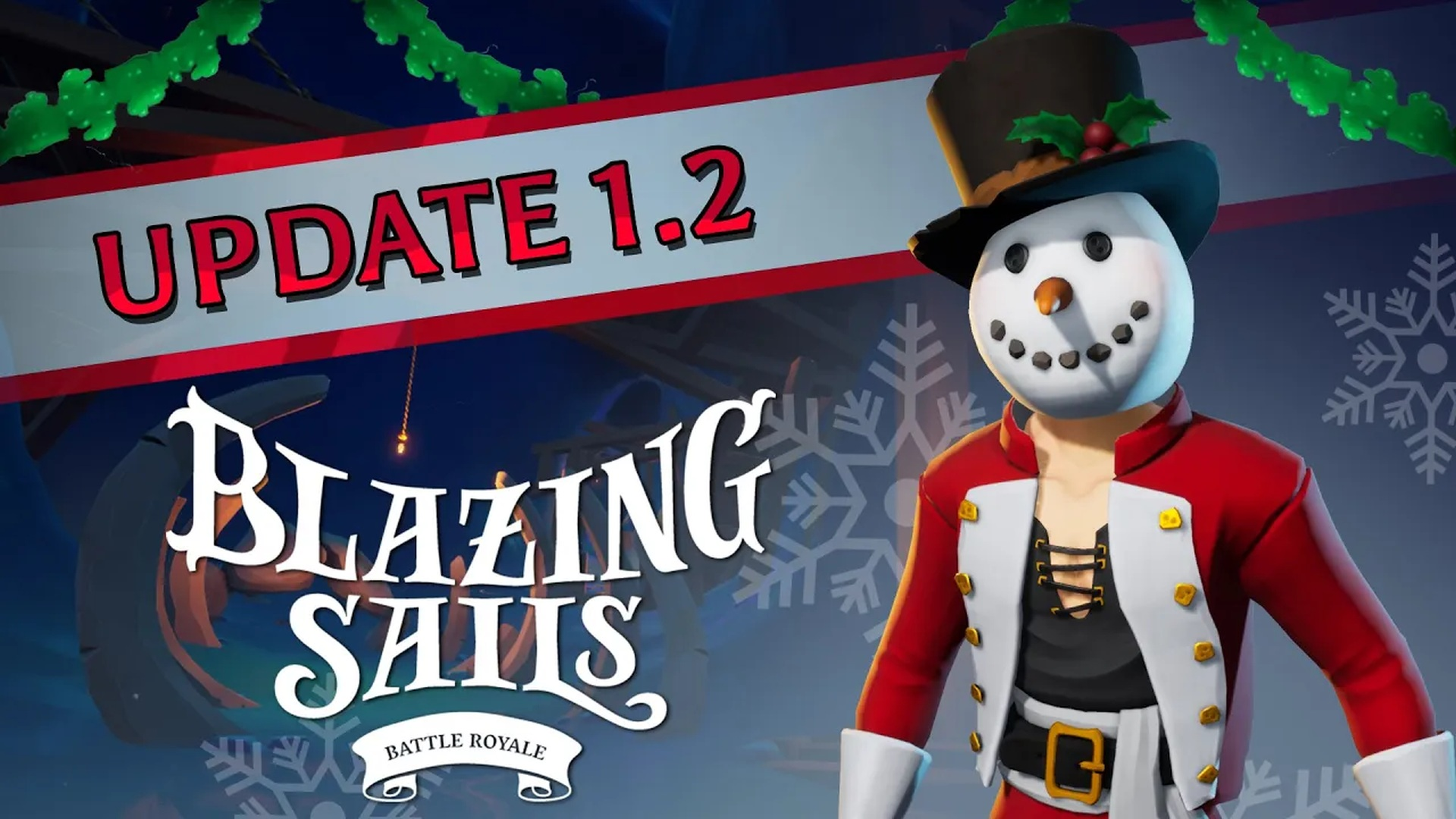 Blazing Sails - Icy Caverns Winter Update | Iceberg Interactive