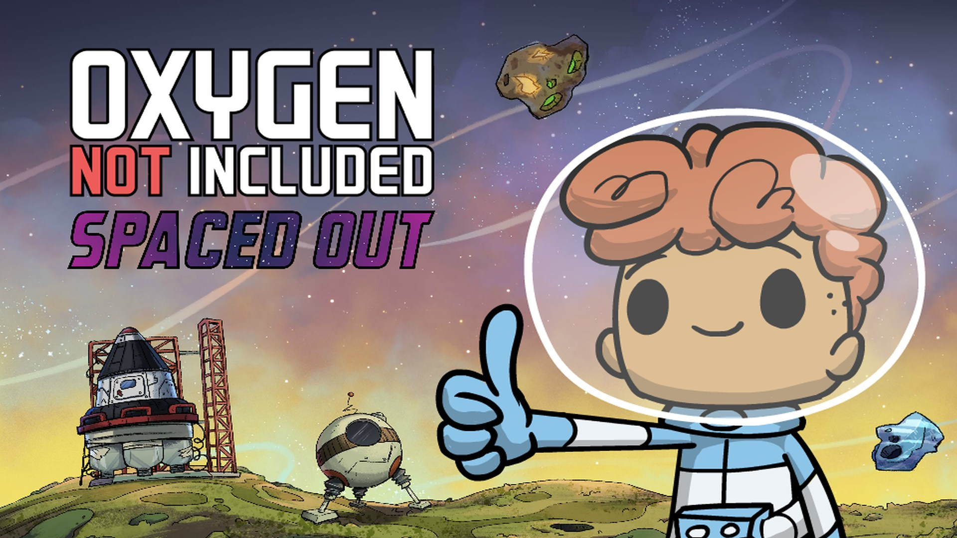Oxygen Not Included - Spaced Out DLC | Klei Entertainment