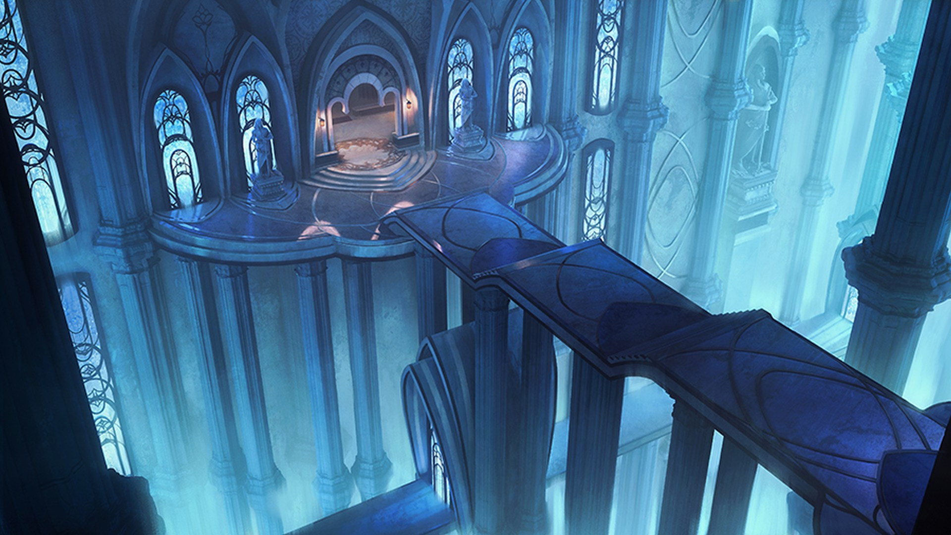 Solasta: Crown of the Magister - Winter Update concept art | Tactical Adventures