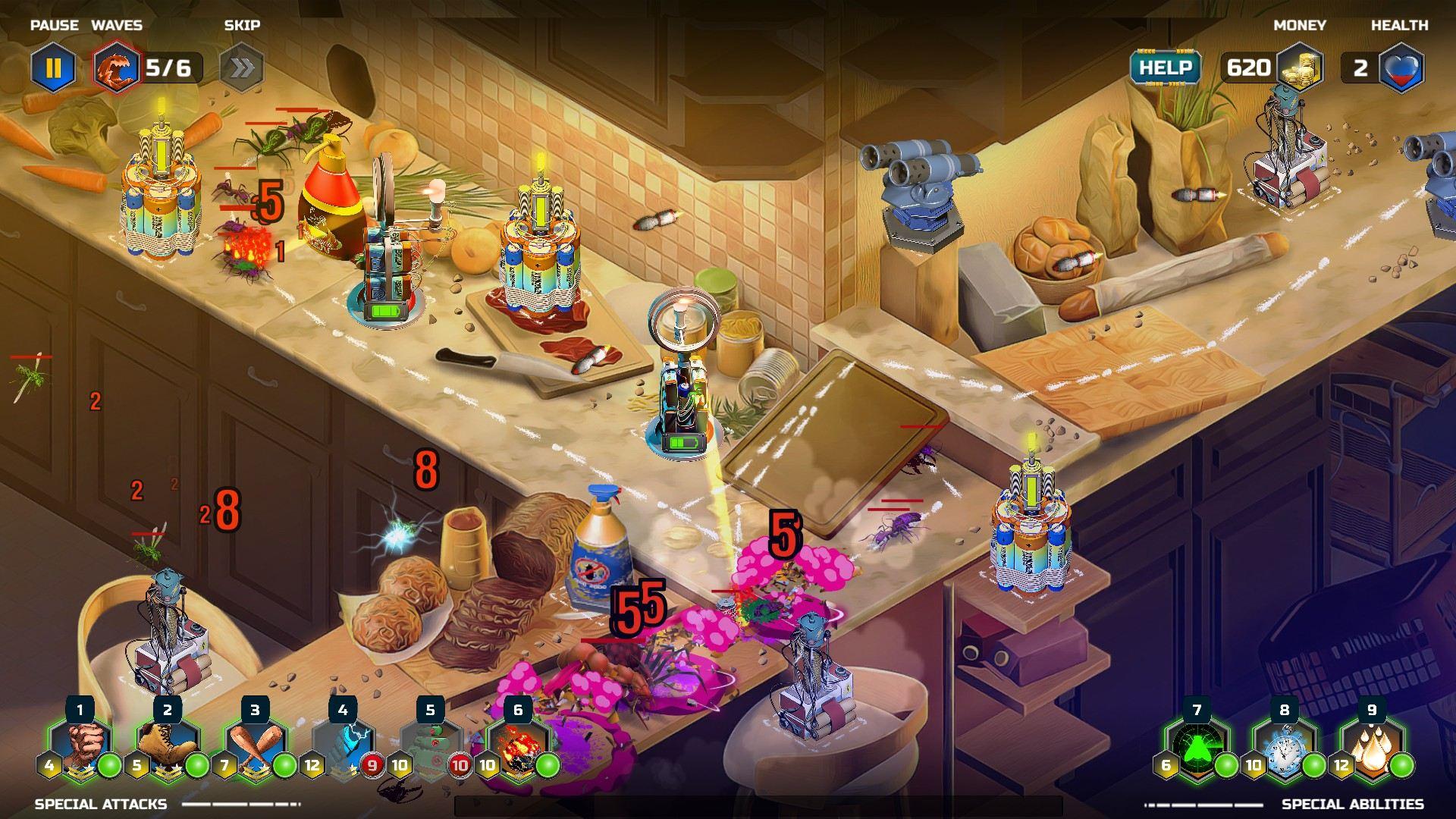 Bugvasion TD | Full Screen Games
