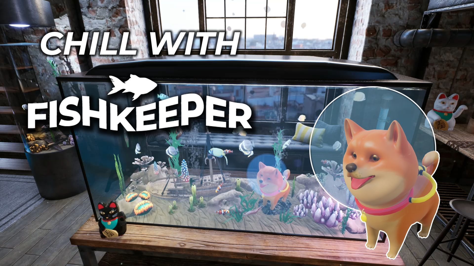 Fishkeeper - Chill Art | Blinkclick Games