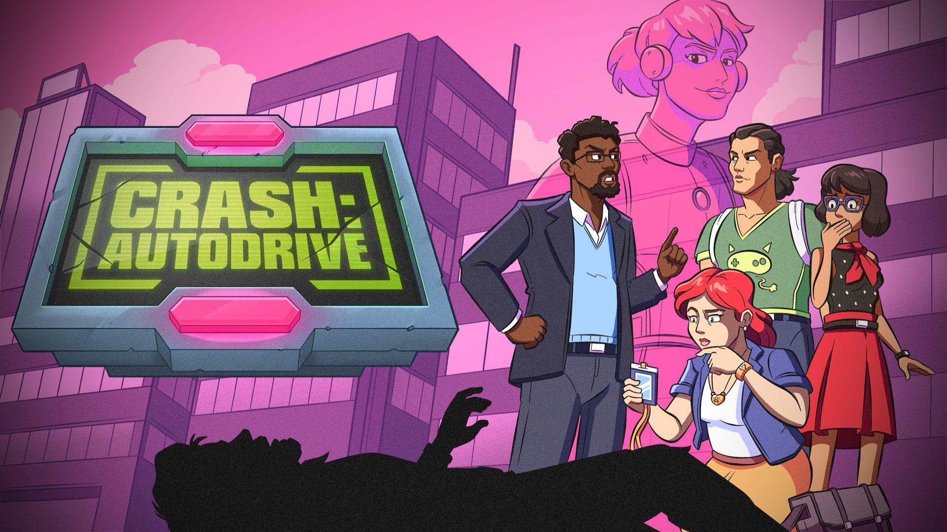 CRASH: Autodrive - key art | Studio Nightcap