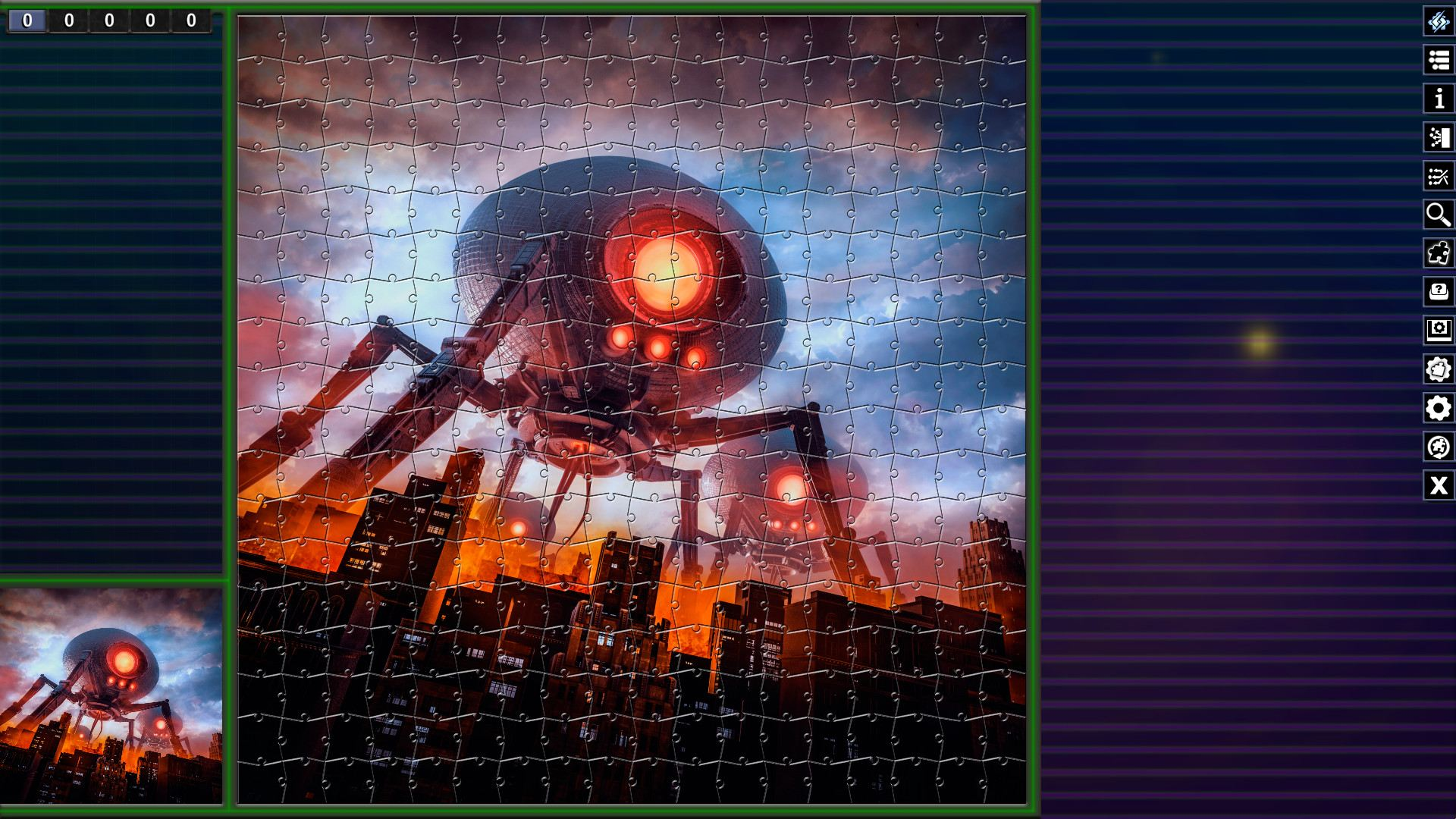 Pixel Puzzles Illustrations & Anime - Jigsaw Pack: Aliens | Kiss Publishing Limited