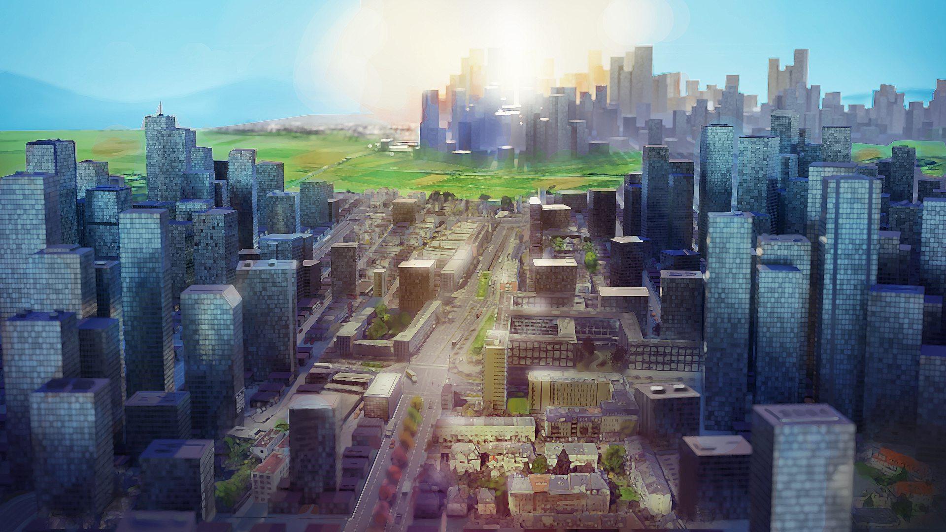 Highrise City - key art | FourExo Entertainment, Deck13
