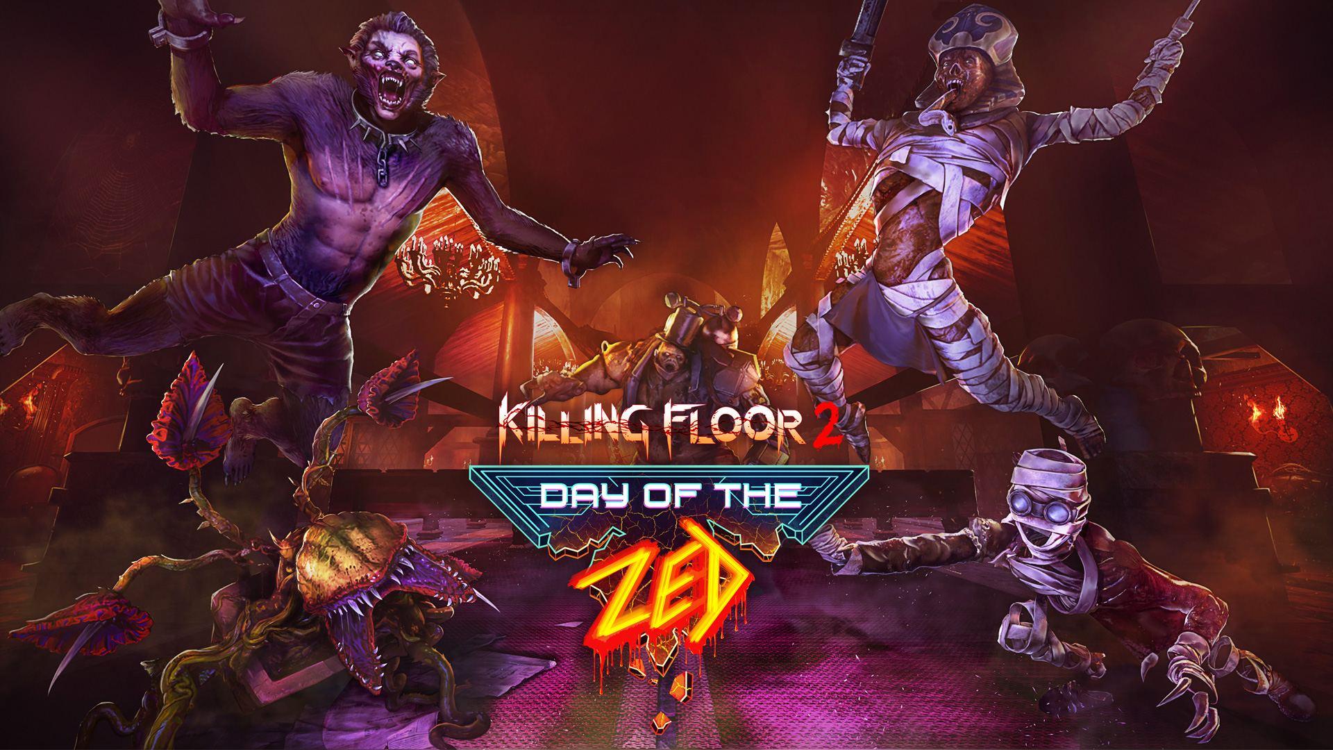 Killing Floor 2 - Day of the Zed - key art | Tripwire Interactive